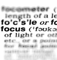Getting Focus