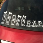 Stick People Stickers On Cars