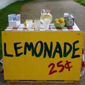 Build a better lemonade stand