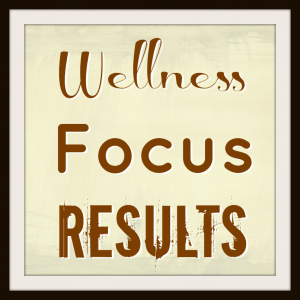 My Three Words for 2013 - Wellness Focus Results