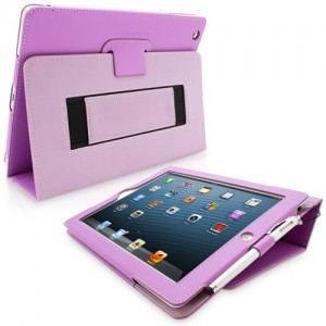 Snugg purple iPad3 case