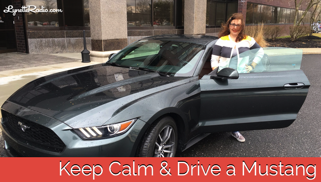 Keep Calm and Drive a Mustang