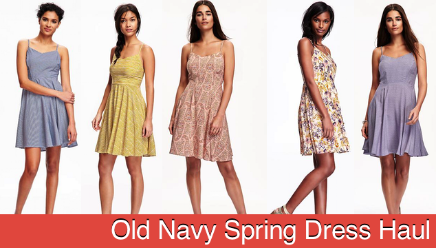 Old Navy Spring Dress Haul