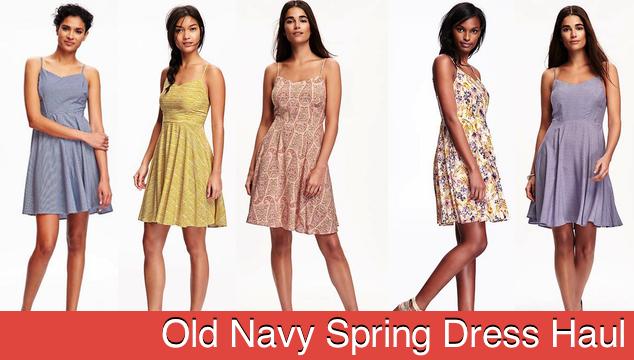 Old Navy Spring Dress Haul