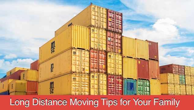 Long Distance Moving Tips for Your Family
